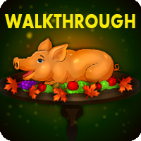 Thanksgiving Peepa Pig Escape Walkthrough